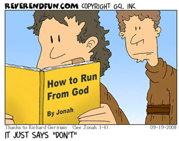 jonah - how to run from god