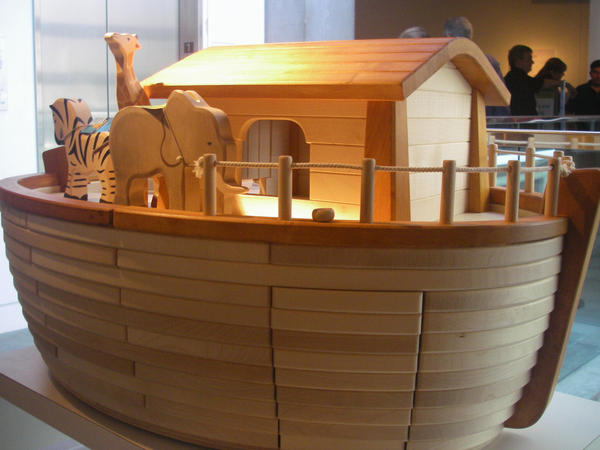 Noah's Ark Toy  Skirball Cultural Center Los Angeles